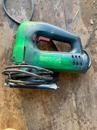 Green and black corded power tool Silver Spring, 20906