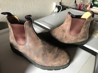 Pair of brown leather Blundstone's boots Victoria, V8X