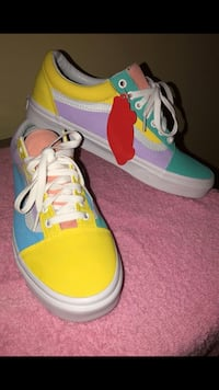 Custom VANS!!! Brand new never worn Woodbridge, 22191
