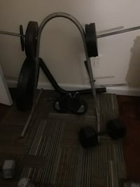 black and gray elliptical trainer Columbia