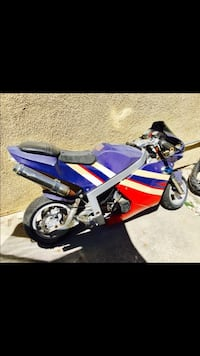 blue and red sports bike Rowland Heights, 91748