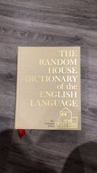 The Random House Dictionary of The English Language book