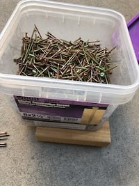 New deck screws about 3-4 LB see pic Glendale