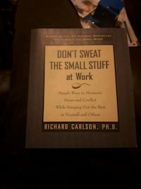 Don't Sweat The Small Stuff At Work book Toronto, L4K 3S2