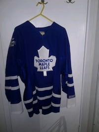 Authentic maple leafs jersey
