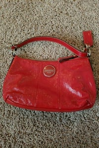 Coach red leather bag North Las Vegas, 89085