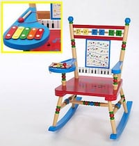 Rocking chair - xylophone in one....a beauty Waltham, 02453