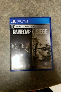 Sony PS4 Rainbows X Siege game case Knoxville, 37916