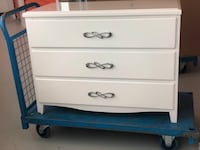 Commode usager - used
