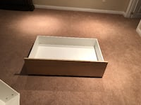 2 Under the Bed Storage Drawers BARRIE