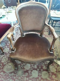 Brown upholstered armchair Odenton, 21113