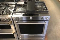 Kitchen Aid stainless steel slide in gas stove Reisterstown, 21136