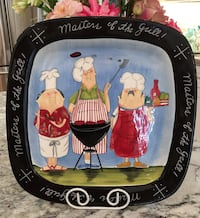 Masters Of The Grill BBQ  Serving Platter~  San Jose, 95124