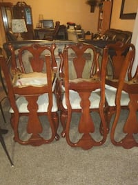 brown wooden dining table set Stafford, 22554