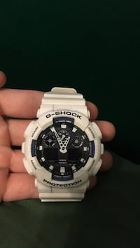 white g shock casio chronograph watch Pearland, 77584