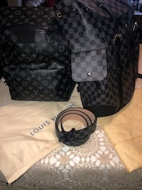 LV bag&belt  Srs ppl only please and thank you! $400 per bag! Toronto, M6M 5B7