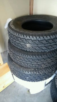 P225/75R15 M+S tires (rims not included) Waterloo, N2T 2X3