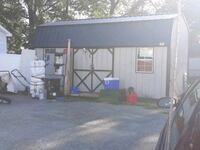 amish metal shed with double doors 2 windows and double lofts 1 yr old Cincinnati