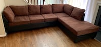 Sectional couch( delivery available) Montgomery Village, 20886