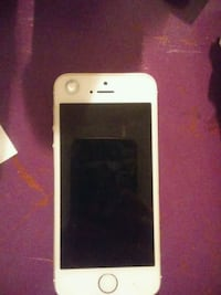 white iPhone 5s.  Straight talk CDMA network. Radford