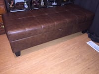 Beautiful Large Leather Storage Bench/Couch Toronto