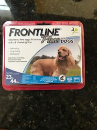 Frontline plus for dogs box Manassas, 20112