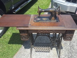 Vintage Singer trendle sewing machine