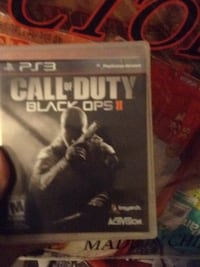 Call of Duty Black Ops 2 PS3 game case Pittsburg, 94565