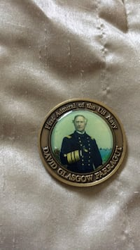 Admiral David Farragut Coin.  Woodbridge, 22192