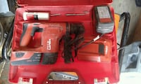 red and black Hilti cordless power drill Spruce Grove, T7X