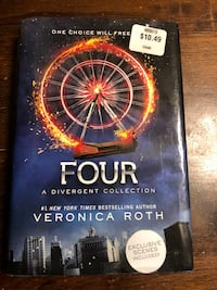 Brand new divergent collection book. Want gone  Hemet, 92545