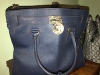 Navy michael kors leather tote bag Tampa, 33604