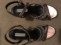Classiques Entier Leather Heels in Pewter Calgary, T3M