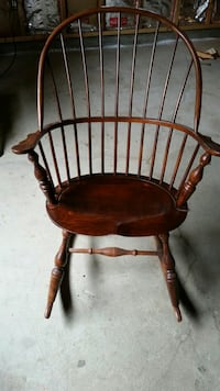 brown wooden windsor rocking chair Bainbridge Island, 98110