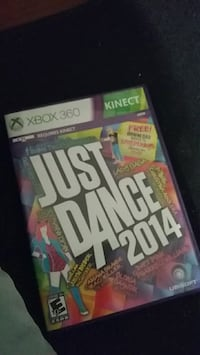 Just Dance 3 Xbox 360 game case New Haven, 06519
