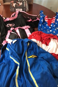 3 full costumes (ladies small or will fit child) Hudson, 01749