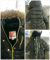 black and brown parka jacket collage Alexandria, 22306