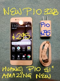 Trade Or Firm$295 WHITE HUAWEI P10 32GB+Char10/10 Beaconsfield, H9W 2E1