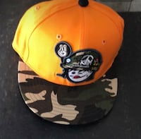yellow and black fitted cap Innisfil, L9S 0L4