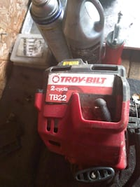 Troy built curve shaft weed eater