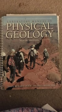 laboratory manual in physical geology ninth edition by richard m busch London, N6J 1H1
