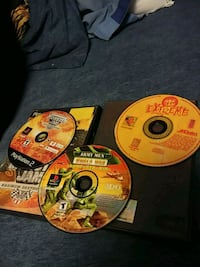 two Xbox 360 game discs Geneva, 14456