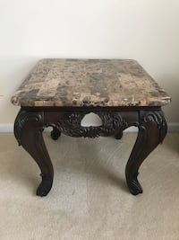 Marble Top End Table-Set of 2 Buford