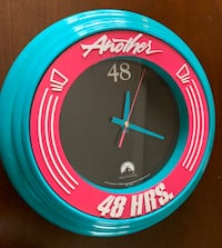 "Another 48 Hours 14"" Round Clock Nashville, 37214"