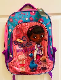 Doc McStuffins Backpack New with tags Hemet, 92544
