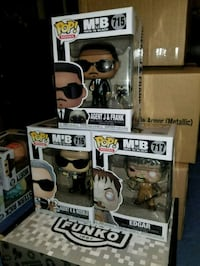 Men in Black funko pop set (FIRM PRICE) Toronto, M1L 2T3