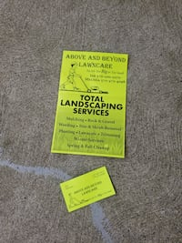Offering: all yard care needs INSURED AND LICENSED Larksville