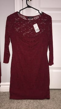 NEVER WORN Red Lace Dress  Woodstock, N4S 9A7