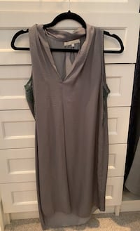 Monk & Lou dress - grey New Westminster