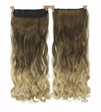 ombre synthetic hair extension  Barrie